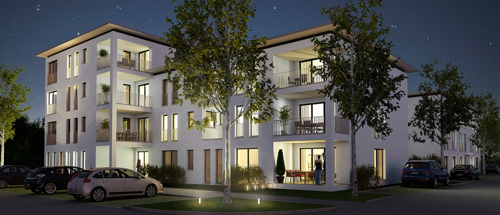 pfeil architekten projekt wohnpark hartenecker h he ludwigsburg. Black Bedroom Furniture Sets. Home Design Ideas